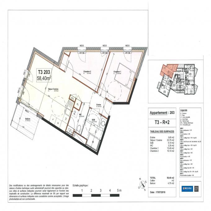 Offres de vente Appartement Theix-Noyalo (56450)